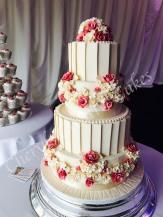 rose-3teir-cake