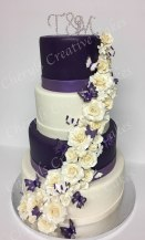 T&M Wedding Cake