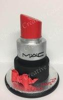 MAC Lipstick Cake