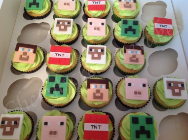 Minecraftcupcakes